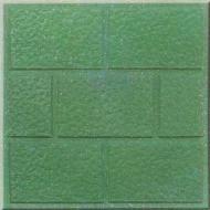 PE8 Abujardado tipo adoquín verde